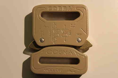 COBRA Schnalle 25mm DESERT SAND fix