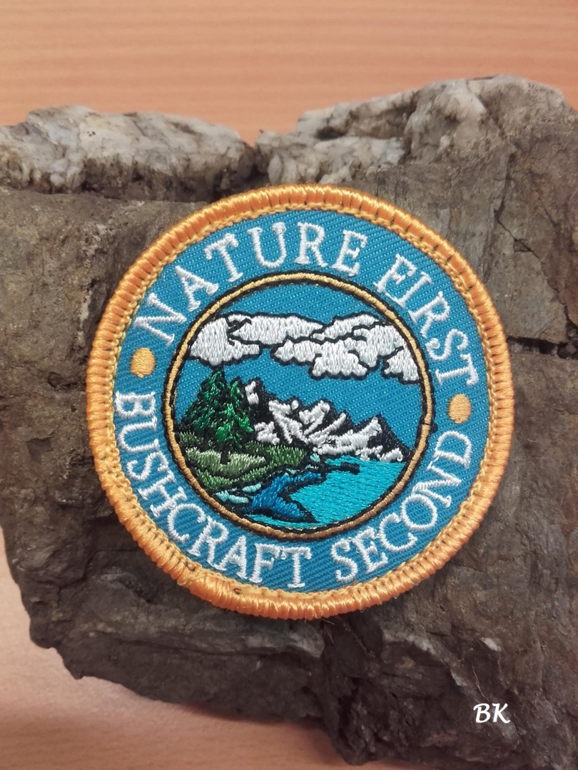 Patch Nature First - Bushcraft Second