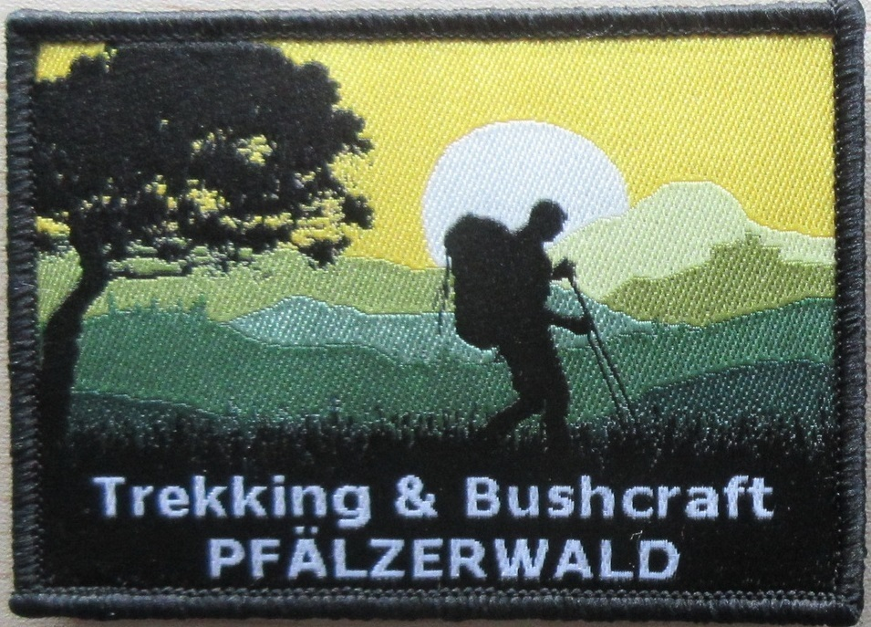 "Patch ""Trekking & Bushcraft Pfälzerwald"""