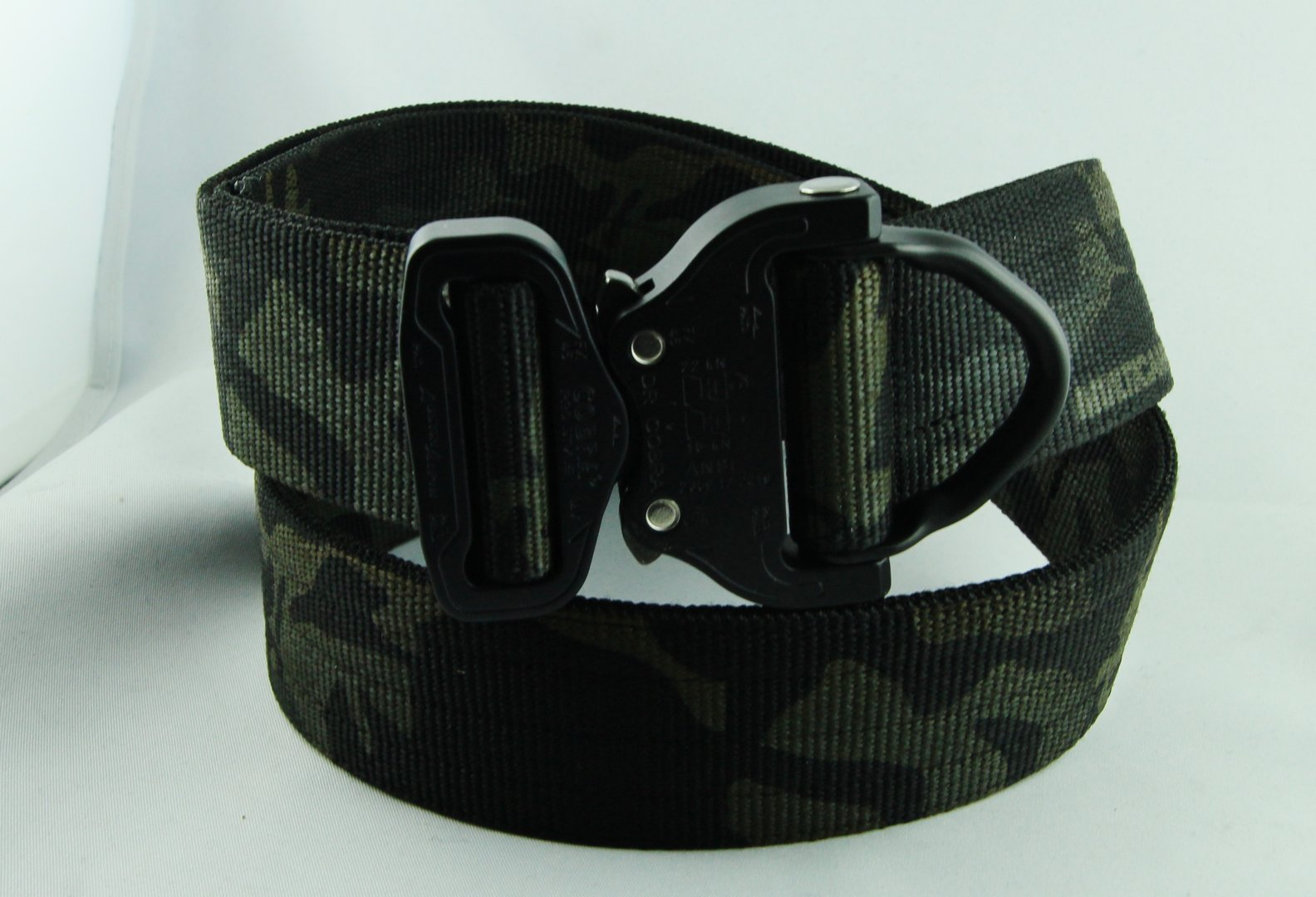 Hosengürtel 45mm BLACK MULTICAM D-RING